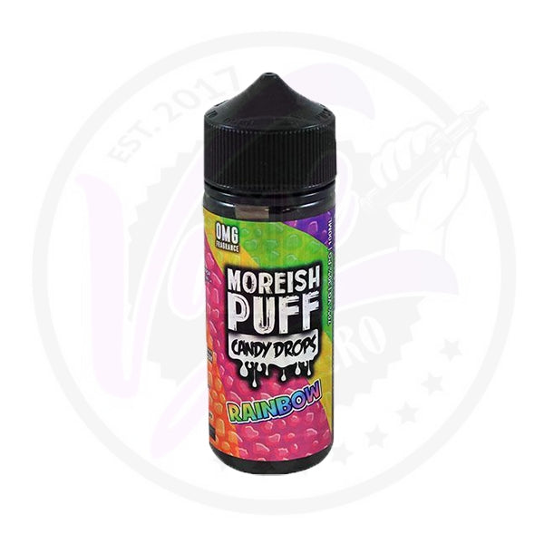 Moreish Puff Candy Drops - Rainbow - 100ml Shortfill