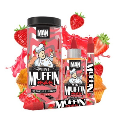One Hit Wonder - Mini Muffin Man - 120ml Shortfill