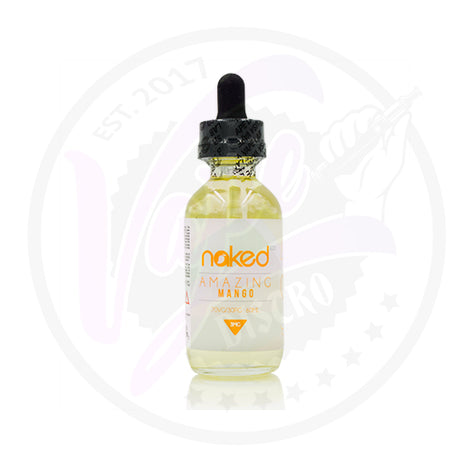 Naked 100 - Amazing Mango - 50ml Shortfill
