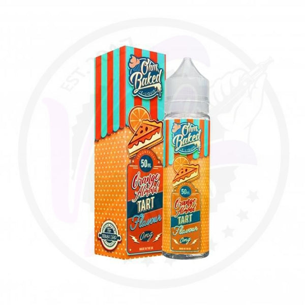 OHM Baked - Orange Almond Tart - 50ml Shortfill