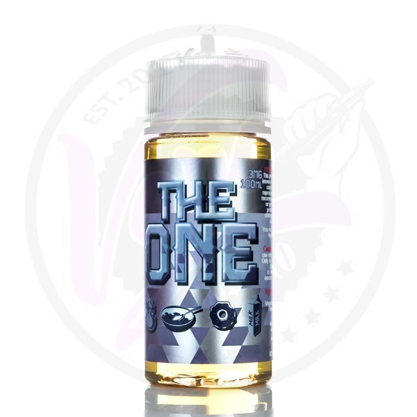The One - A Frosted Donut Cereal Dipped in Blueberry Milk - 100ml Shortfill