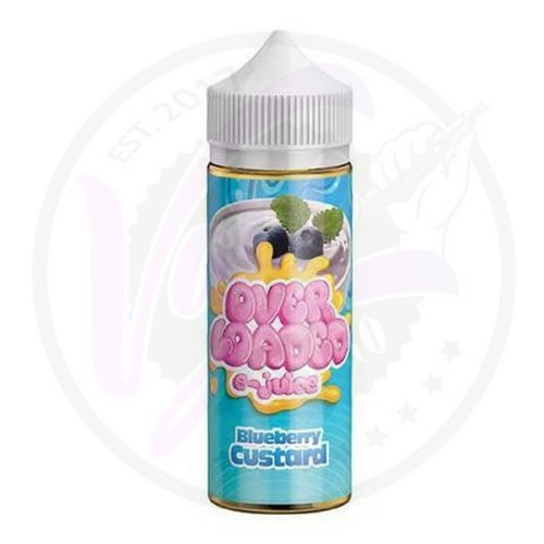 Overloaded - Blueberry Custard - 120ml Shortfill