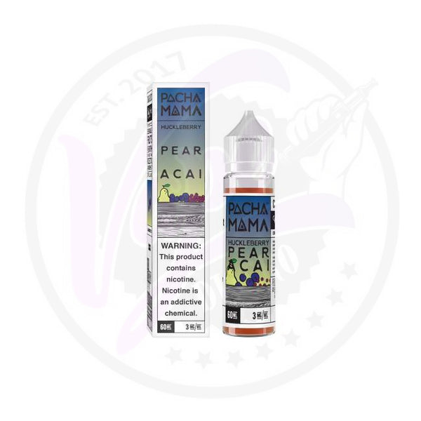 Pacha Mama - Huckleberry Pear Acai - 50ml Shortfill