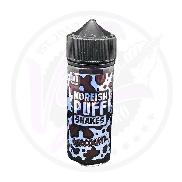 Moreish Puff Shakes - Chocolate 0mg - 100ml Shortfill
