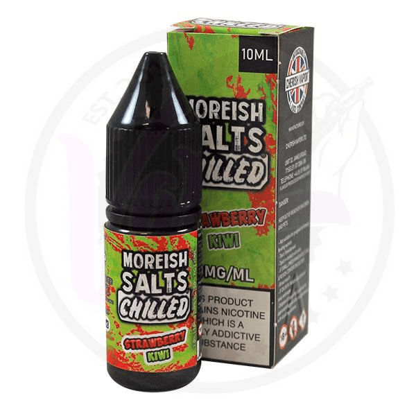 Moreish Puff - Nic Salt Chilled - Strawberry Kiwi - 10ml