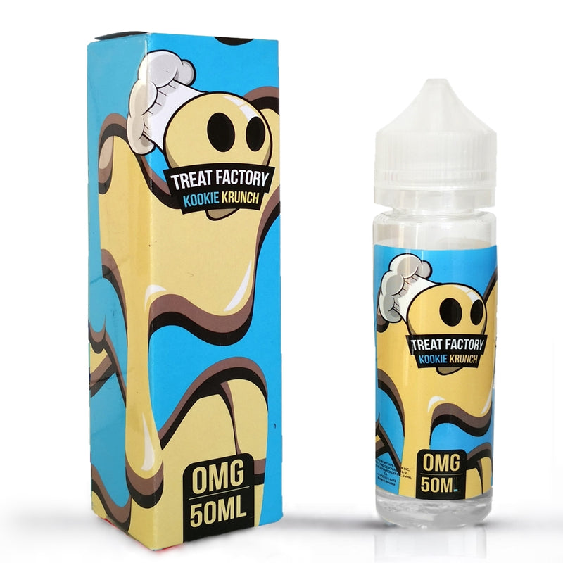 Treat Factory - Kookie Krunch - 50ml Shortfill