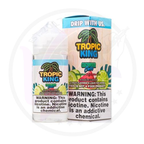 Tropic King - Cucumber Cooler - 100ml Shortfill