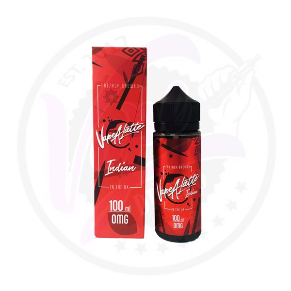 Vape A Latte - Indian - 100ml Shortfill