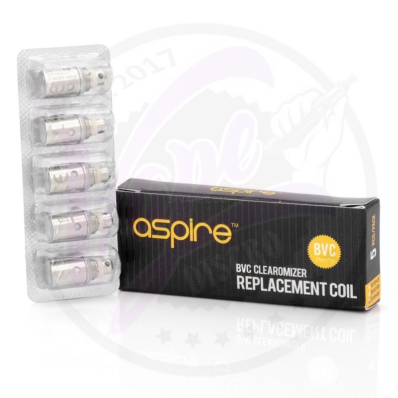 Aspire BVC Clearomizer (5 pack)