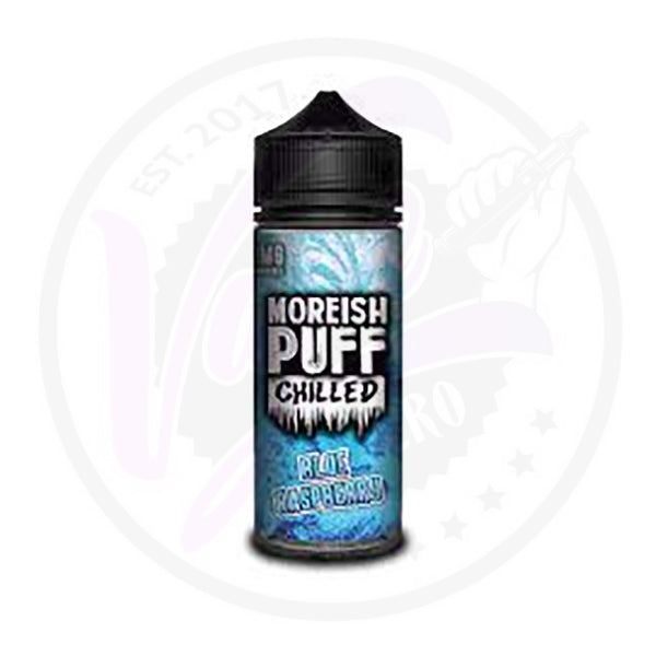Moreish Puff Chilled - Blue Raspberry 0mg - 100ml Shortfill