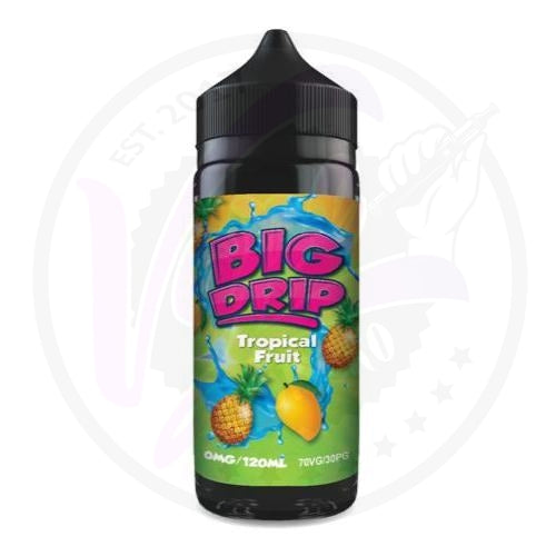 Big Drip - Tropical Fruit - 100ml Shortfill