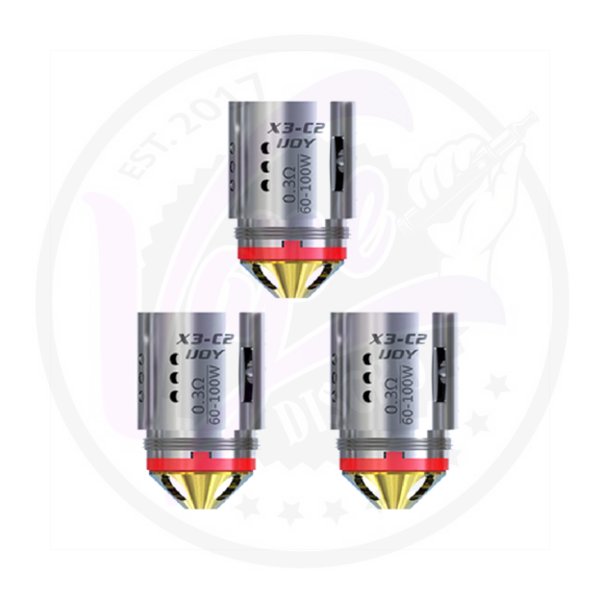 iJoy X3 C2 Replacement Coils (3 pack)