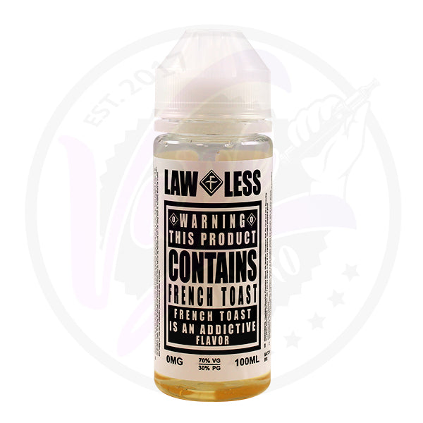 Flawless Lawless *WARNING* - French Toast - 100ml Shortfill