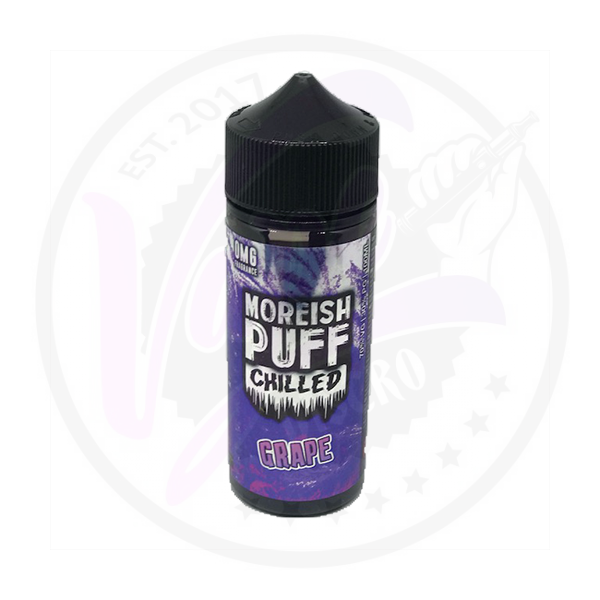 Moreish Puff Chilled - Grape 0mg - 100ml Shortfill