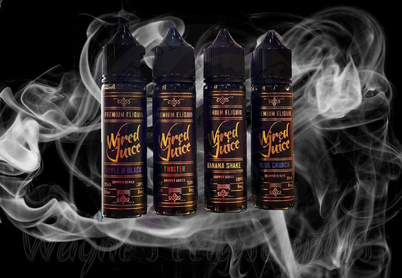 Wired Juice - Various Juices - 50ml - Shortfill