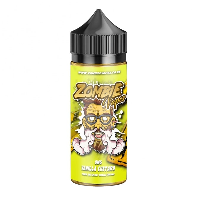 Zombie Vapes - Vanilla Custard - 50ml Shortfill
