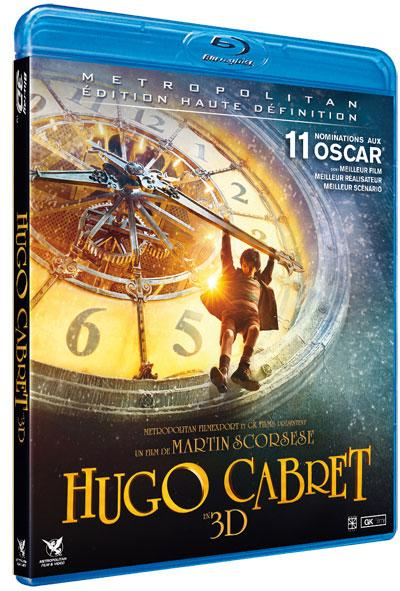 Hugo Cabret 3D Active   Blu ray