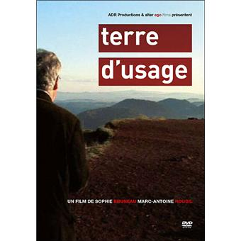 Terre d'usage  DVD