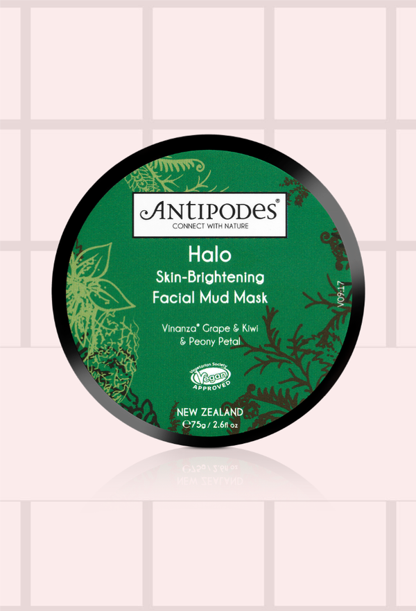 Halo Skin-Brightening Facial Mud Mask