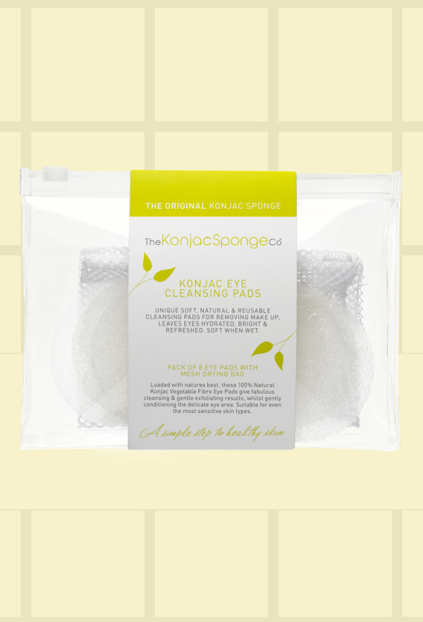 Konjac Eye Cleansing Pads - Pure Konjac