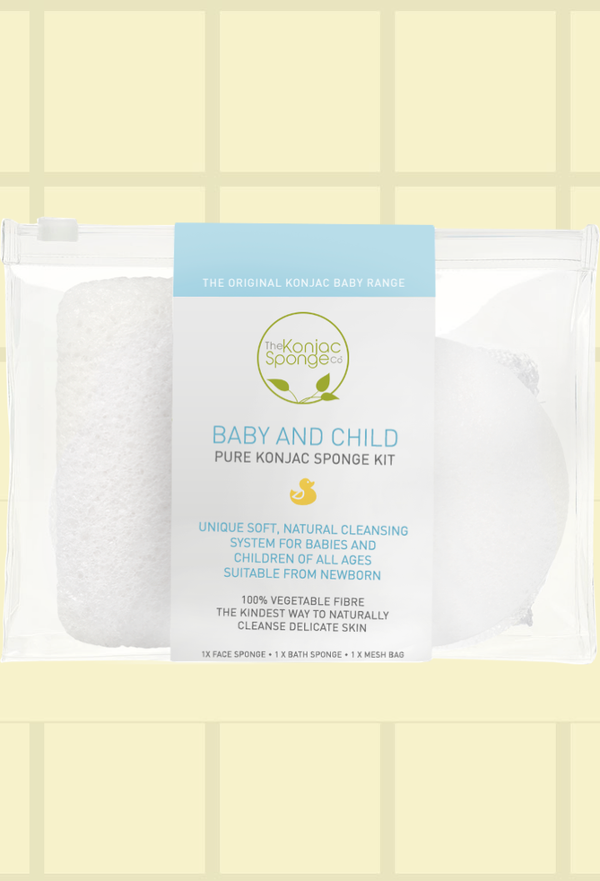 Konjac Baby and Child Kit