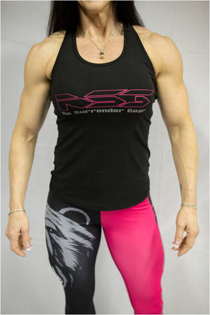 Get Geared Up Women's Fitness Tank - NS No Surrender  - 1