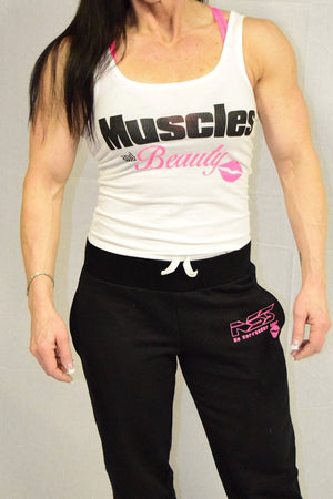 Muscles & Beauty Ladies Tank - NS No Surrender  - 1