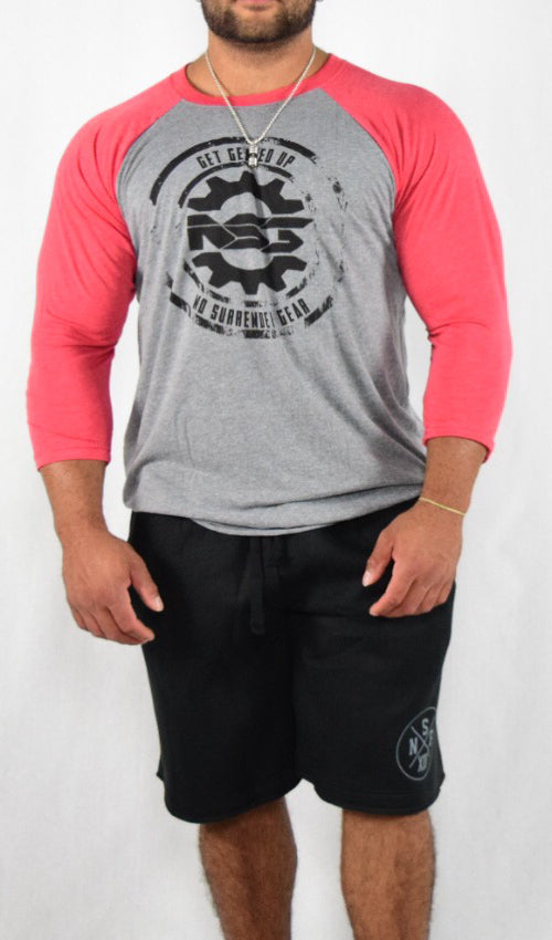 Get Geared Up Raglan | Red