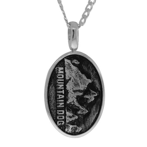 Mountain Dog Signature Tag - NS No Surrender  - 1