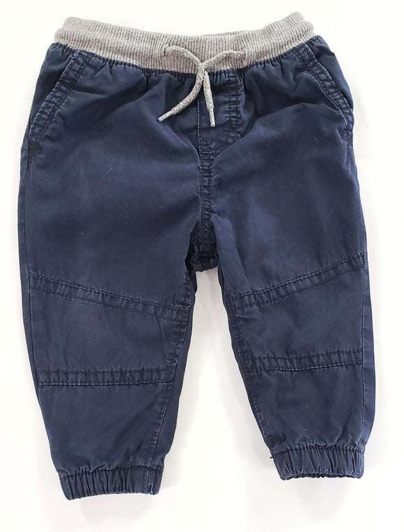 Jersey Lined Pants size 9-12m