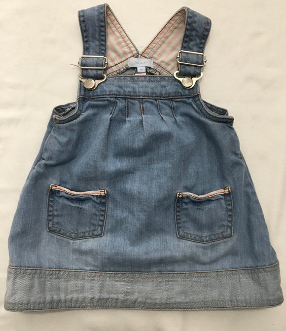 Denim dress size 9 months