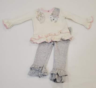 Ruffles outfit. Size 9 months