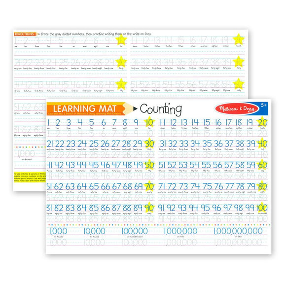 Learning mat - counting