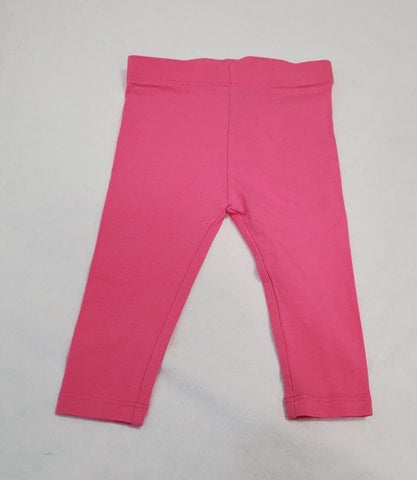 pink leggings size 6-12 months