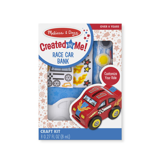 Created by Me! Race Car Bank Craft Kit