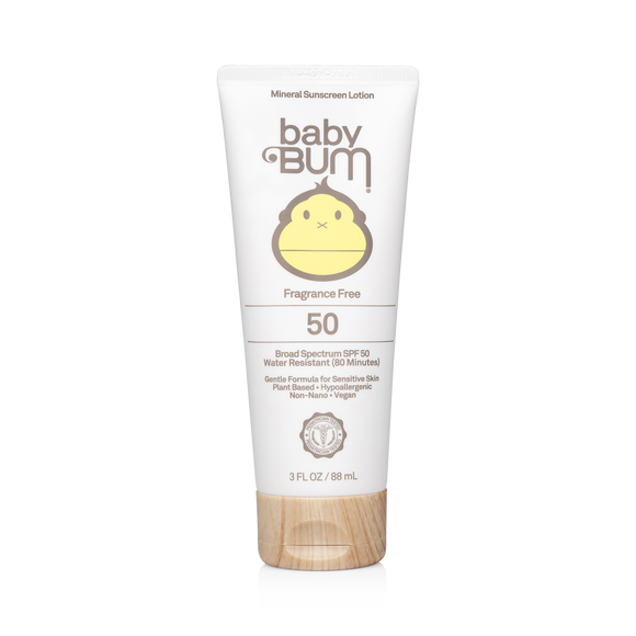 Mineral SPF 50 Sunscreen Lotion-Fragrance Free