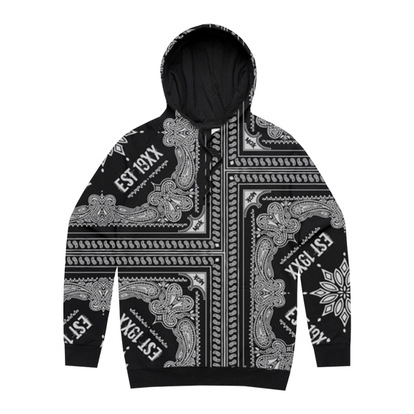 *SOLD OUT* Black Paisley Custom Hoodie + Tickets To My Downfall Digital Album (Pre Order)