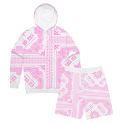 *SOLD OUT* Pink Paisley Sweats Set (Pre Order)
