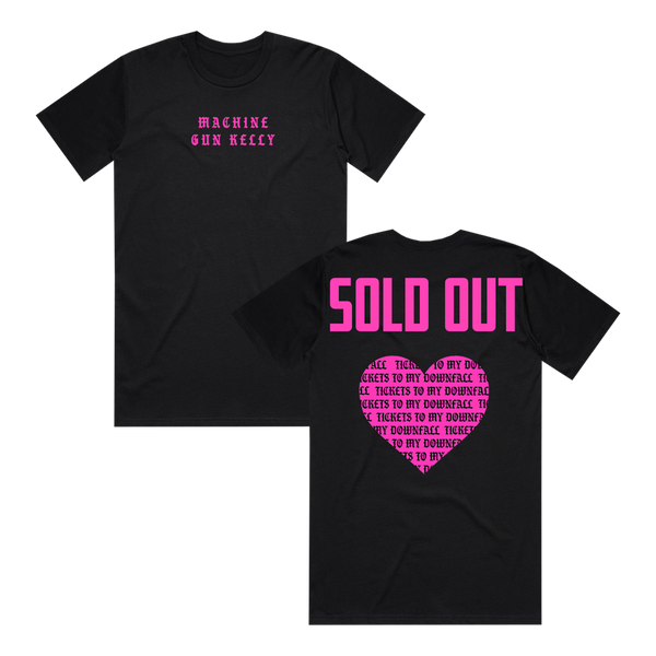 Sold Out Black Tee + Tickets To My Downfall Digital Album (Pre Order)