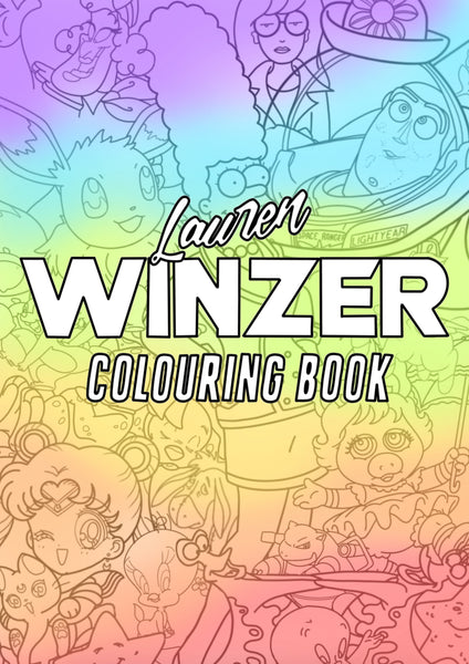 Coloring Book [Custom Printed Copy - will be mailed to you - AUS orders only!]