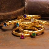 18kt Gold Vermeil Stackable Rings