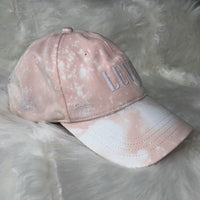 Distressed Kat - Levi's Distressed and Bleach Dyed Hat