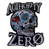 Authority Zero - Candy Skull Pin