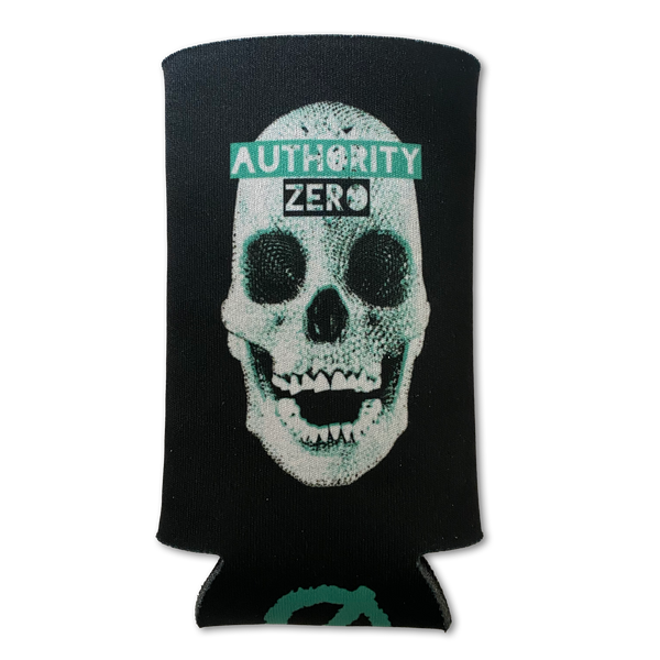 Authority Zero - Skull Collapsible 12 oz. Slim Foam Can Cooler (Slim Koozie)