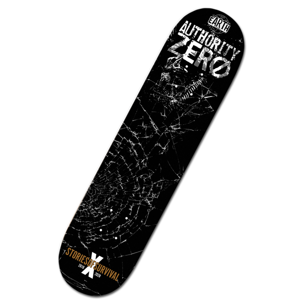 Authority Zero - Stories of Survival Limited Edition Skateboard Deck