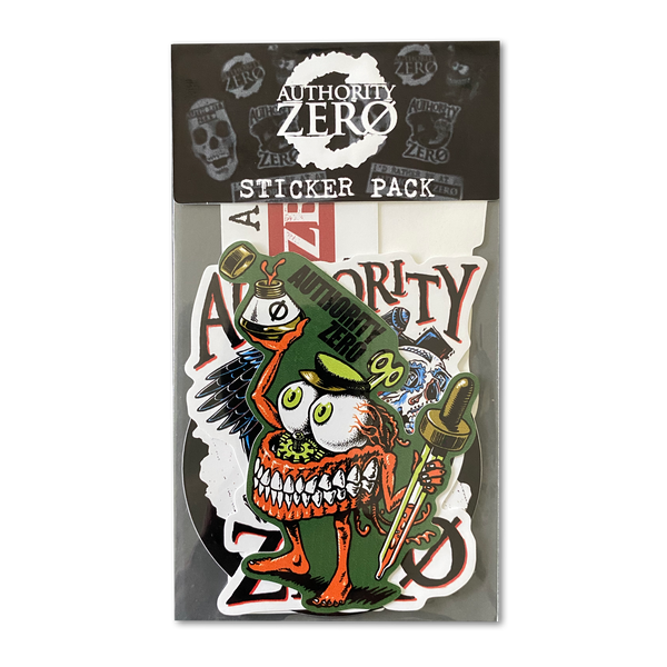 Authority Zero - Sticker Pack