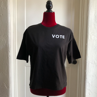 Distressed Kat - Vote Boxy Tee