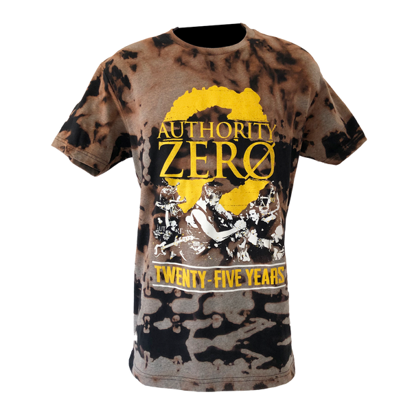 Distressed Kat - Authority Zero 25 Year Anniversary Shirt