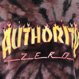 Distressed Kat - Authority Zero Distressed Skate Shirt (Small)