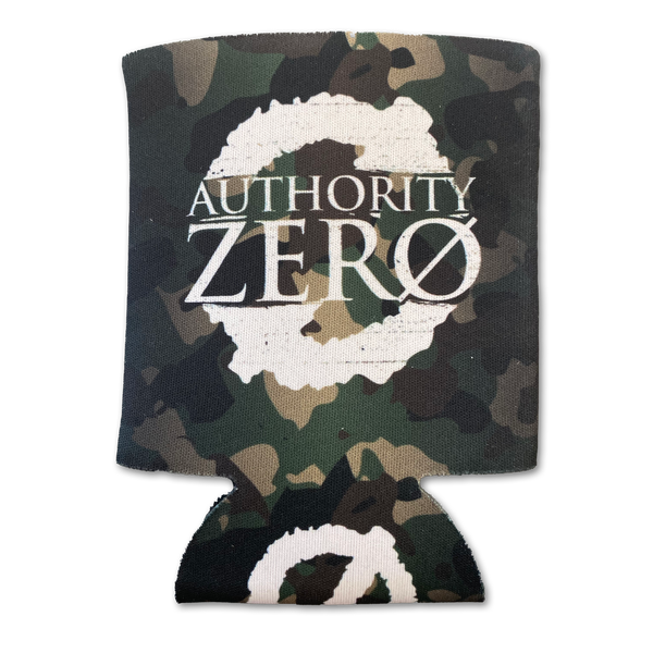 Authority Zero - Camo Collapsible Foam Can Cooler